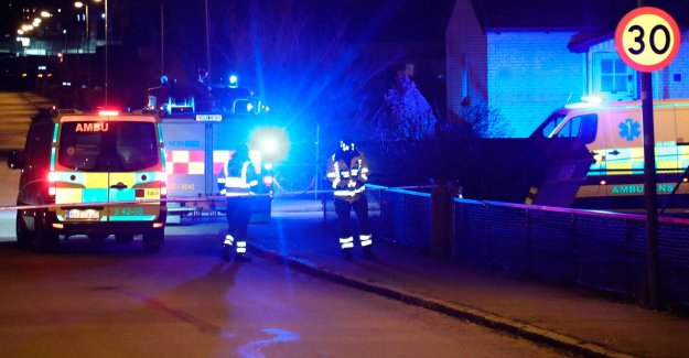 Explosion at the villa – two to the hospital
