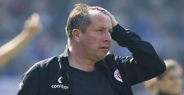 FC St. Pauli dismisses coach Kauczinski
