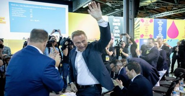 FDP-Chef Lindner voted with 86.6 percent of re -