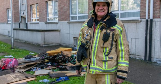Firefighter Chris resigns after 38 years: the more you as friends to each other depends, the farther you dare to go in danger
