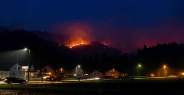 Forest fires out of control: hundreds evacuated