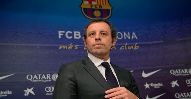 Former Barca president will be freed in the right