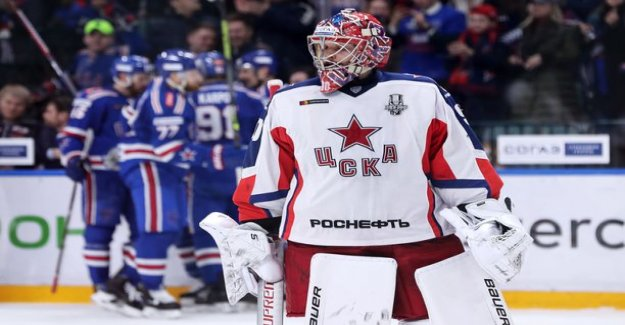 Former NHL striker botched sequel to the batch, SKA to get rid of the one goal curse