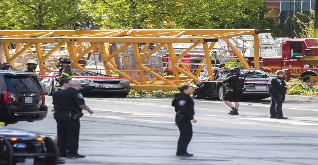 Four dead after crane collapsed