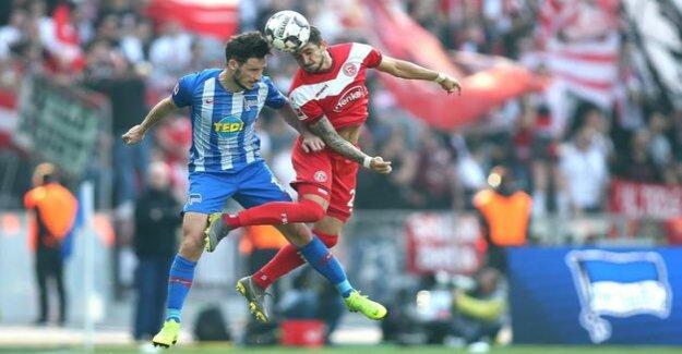 Fourth defeat in a row : Hertha BSC loses 1:2 against Düsseldorf
