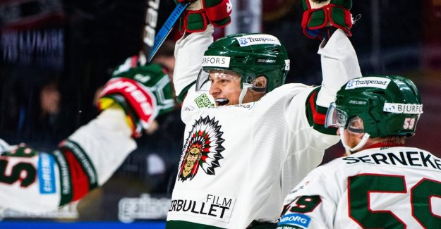 Frölunda won the first ~ ~ ~ ~ after the extension