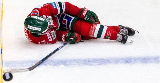 Frölundastjärnan miss the rest of the season