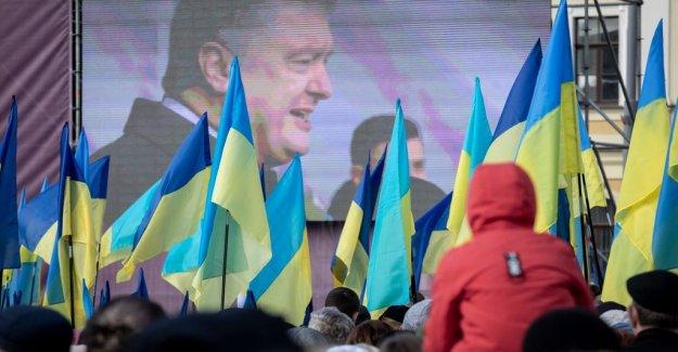 Fulspelet in Ukraine has started