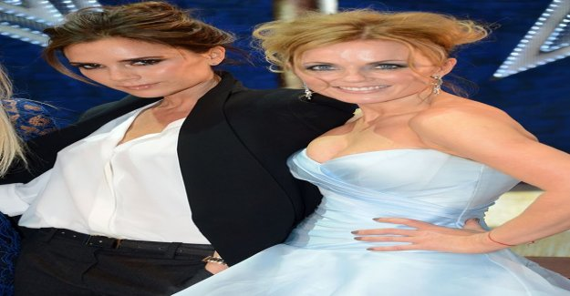 Geri Halliwell to celebrate Victoria beckham's birthday cute pictures – with Ger rarely in the public eye to see the daughter