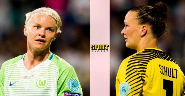 German goalkeeper of the Swedish star: I will miss her