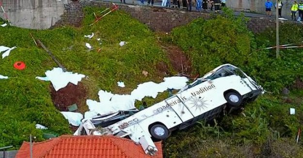 German tourists die in bus accident in Madeira