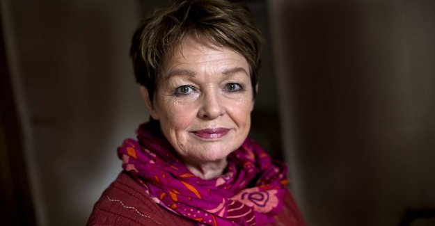 Ghita Nørby becomes a radio announcer