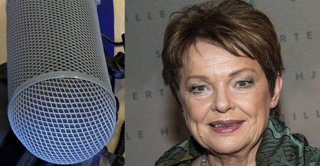 Ghita Nørby on Radio24syv, journalist: She would destroy me