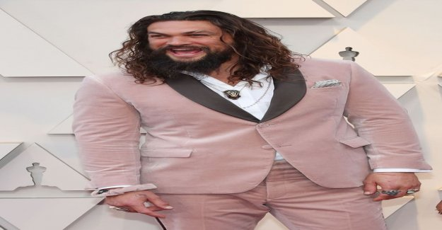 GoT-mortar Jason Momoa shaved his beard for the first time in 9 years - the result will surprise