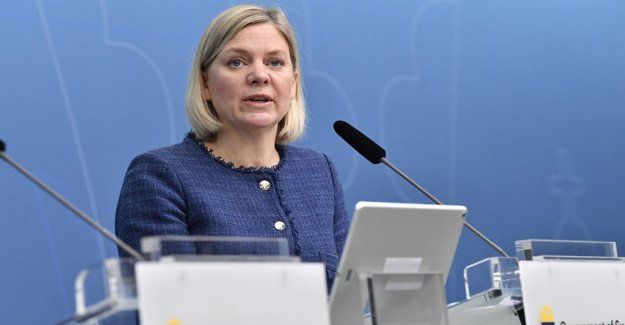 Government: No surplus to the new reforms in the vårbudgeten