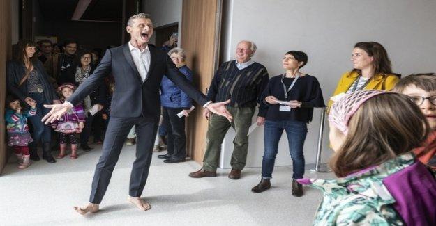 Grand Prix theatre's performance artists Yan Duyvendak
