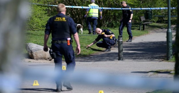 Group of nato was shot in the leg by police in Malmö