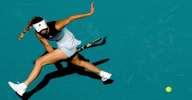 Grusspecialist helps Wozniacki with the tactical tip in the UNITED states