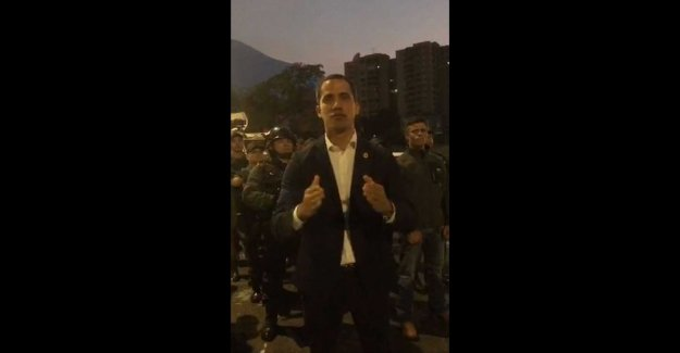 Guaidó: the Takeover is near