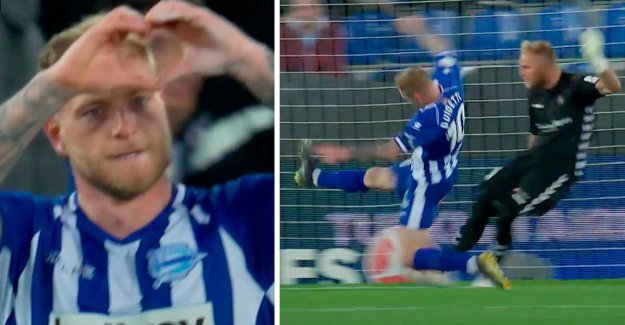 Guidetti fix scored for Alavés
