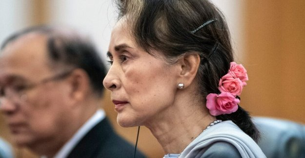 Gunnar Jonsson: the Heroine Aung San Suu Kyi has become a coward