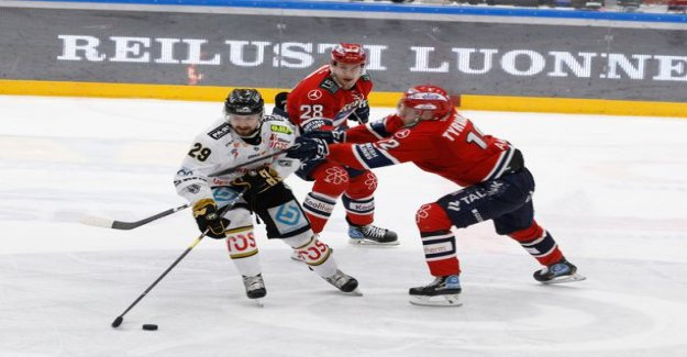 HIFK:has the hurricane started the second one - Teemu Eronen great starring