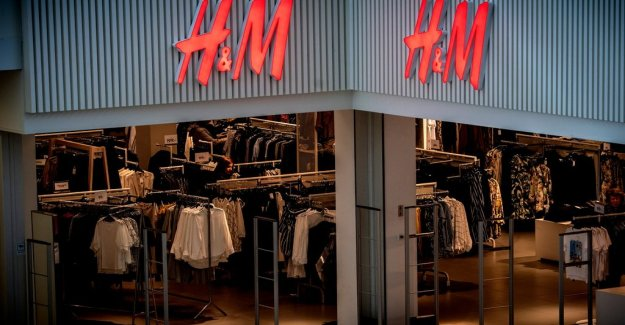 H&M before the threshold for free shipping
