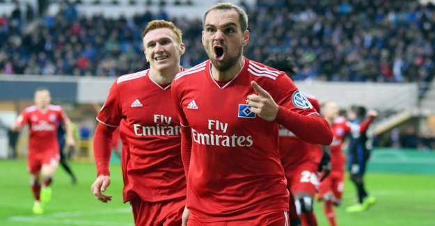 HSV Halbfnale for the first time since 2009 in the DFB-Cup