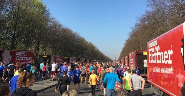 Half marathon in the Liveblog : The first are on the track