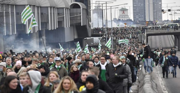 Hammarby against the new attendance record in hemmapremiären