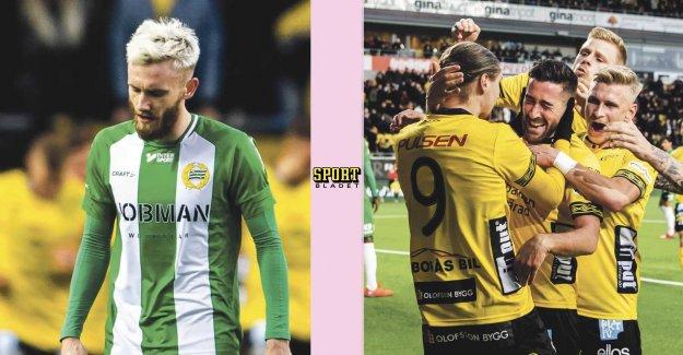 Hammarby lost the leadership against Elfsborg