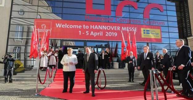 Hannover-Messe opened : Merkel calls for technological catch-up