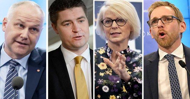 Harsh criticism against the government's vårbudget