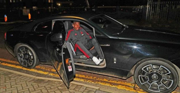 He answers with 'His Excellence' Pogba: He was not with the team bus but in his Rolls-Royce to the stadium exit