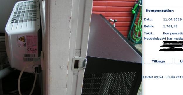 Heat pump-fake: jem & fix pay 1761 kr return