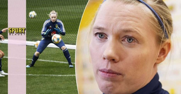 Hedvig Lindahl's delicate situation: Is human