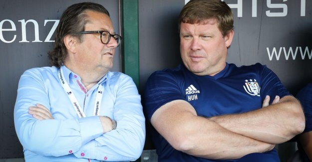 Hein Vanhaezebrouck: I have a bluts and a bump, yes, but Anderlecht is still Anderlecht?