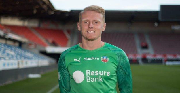 Helsingborg borrow a goalkeeper from Tottenham