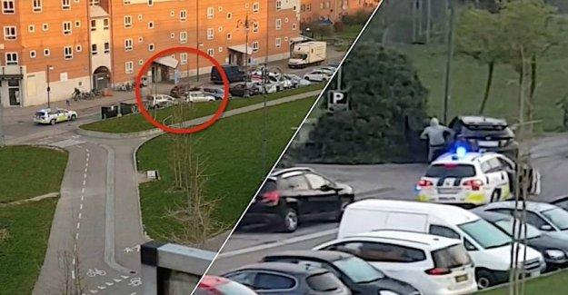 Here ends the hopeless car chase in Copenhagen