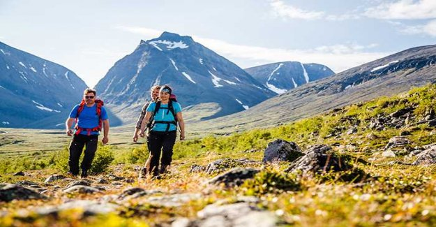 Here is Sweden's twelve new hiking trails