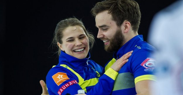 Historically, the Swedish world CUP gold medal in curling