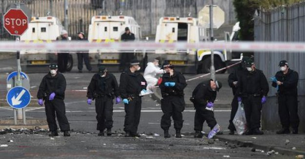 Horror to Londonderry-shots: a Shocking and senseless