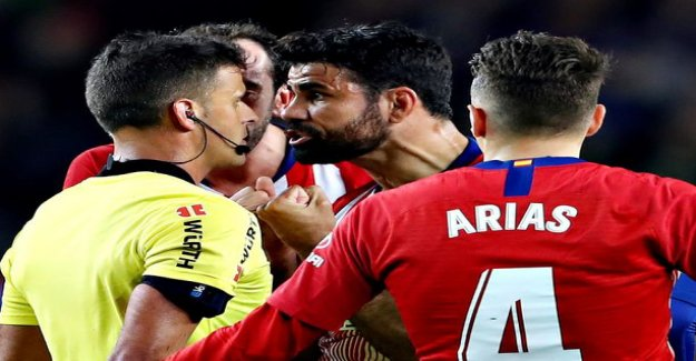 Hotshot Diego Costa got really long game ban for comments to the referee were rare outrageous
