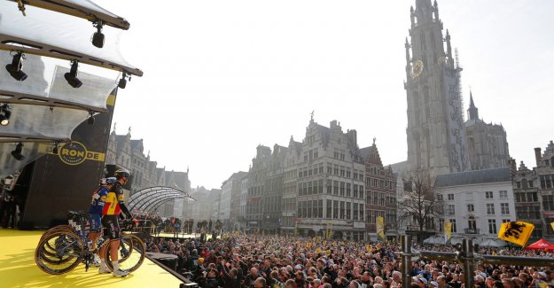 IN THE PICTURE. Atmosphere in Antwerp: the most beautiful pictures of before the Round start