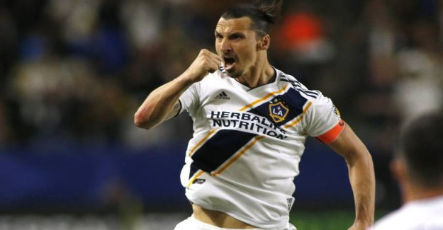 Ibrahimovic and Rooney shows målnæse in the UNITED states