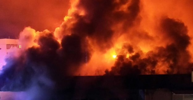 Ica store destroyed in fire