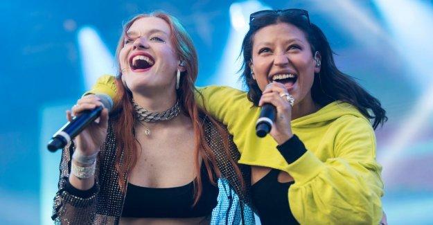 Icona Pop opens the pride festival