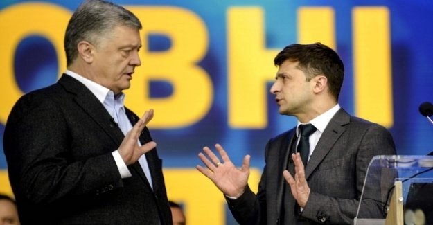 If the Ukrainian election campaign to the sports show