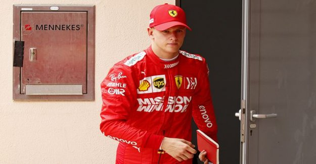 Image: Corinna Schumacher watching his son going Ferrari, the ex-champion to praise, little schumi's pace – Very emotional