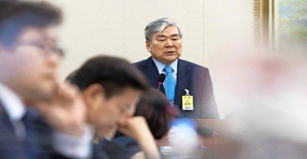 In South Korea, the bosses falls